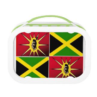 Native American jamaican Yubo Lunchbox