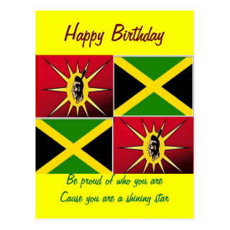 Native american-Jamaican Postcard