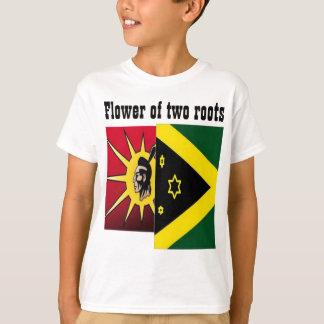 Native American-jamaican t-shirts
