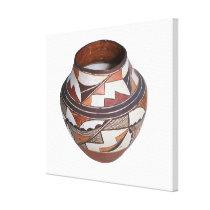 Native American Jar Canvas Print