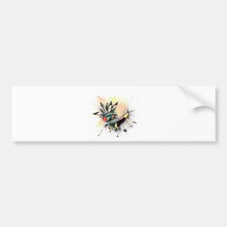 Native American Kachina Dancer Bumper Sticker