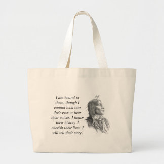 Native American Large Tote Bag