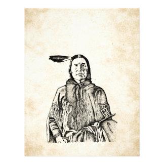 Native American Letterhead