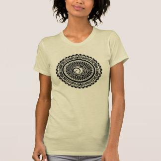 Native American Lizard Mandala Design T-shirt