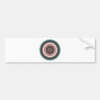 Native American Mandala Bumper Sticker