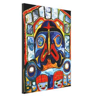 Native American Mask Canvas Print