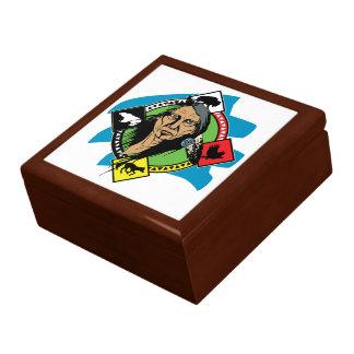 Native American Medicine Wheel Gift Box
