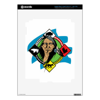 Native American Medicine Wheel iPad 3 Skins