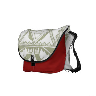 Native American Medium Messenger Bag