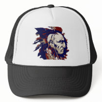 Native American Mohawk Trucker Hat