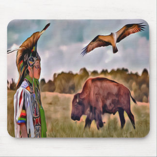 Native American Mouse Pad