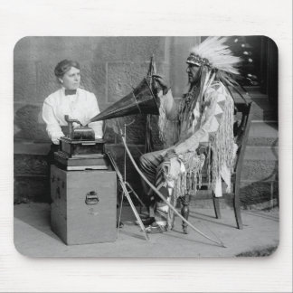 Native American Music, 1915 Mouse Pad