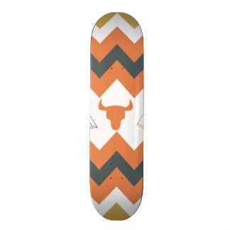 Native American Navajo Chevron Teepee Arrow Skulls Skateboard Deck