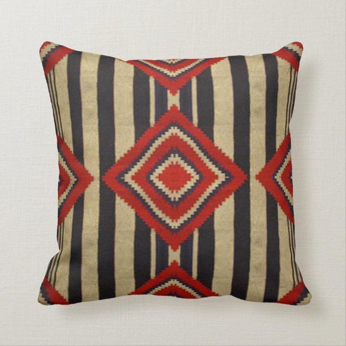 Throw Pillows Next : Native American - Navajo Throw Pillow Zazzle