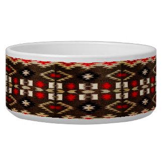 Native American Navajo Tribal Design Print Bowl