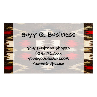 Native American Navajo Tribal Design Print Business Card