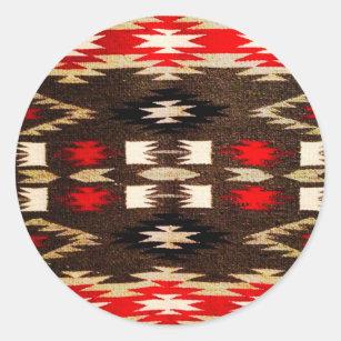 native american design stickers zazzle