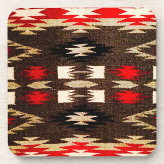 Native American Navajo Tribal Design Print Drink Coaster