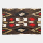 Native American Navajo Tribal Design Print Hand Towels