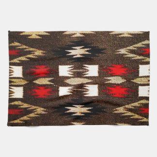Native American Navajo Tribal Design Print Kitchen Towels