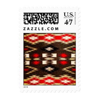 Native American Navajo Tribal Design Print Postage