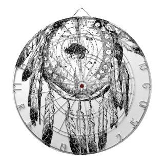Native American Ornament Dartboard With Darts