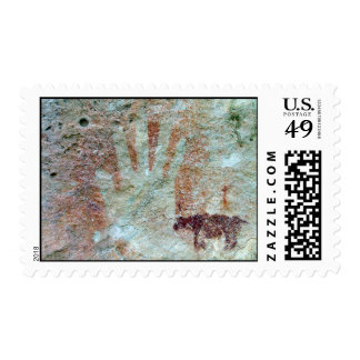 Native American Painting Stamp