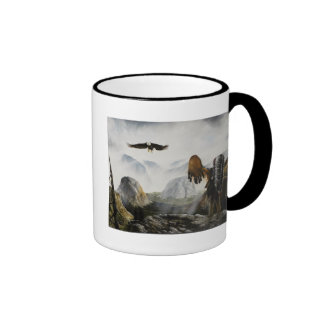 Native American Painting~ Welcome Friend Mugs