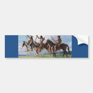 Native  American Paper Products Bumper Sticker
