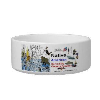 Native American Pet Bowl