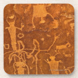 Native American petroglyphs, Rochester Panel, Drink Coaster