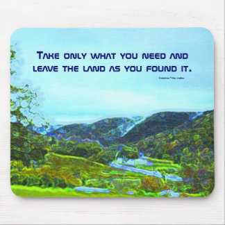 native american philosophy mouse pad
