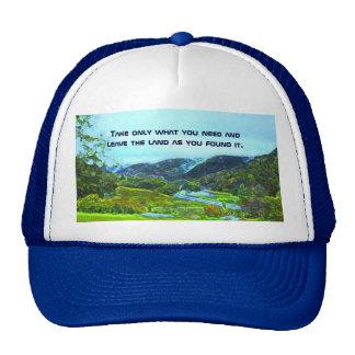 native american philosophy trucker hat