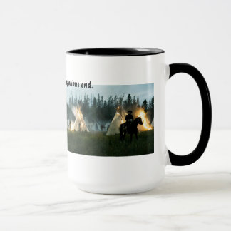 NATIVE AMERICAN PLIGHT MUG