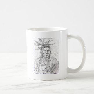 NATIVE AMERICAN.PNG Native American Drawing Classic White Coffee Mug