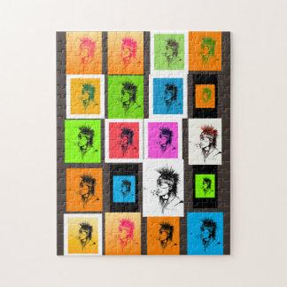 NATIVE AMERICAN - POP-ART PUZZLE