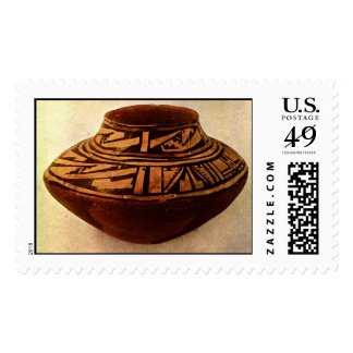 Native American Pottery Postage Stamps