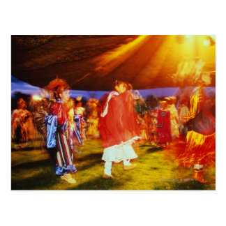 Native American pow wow at the Omak Postcard