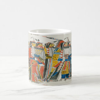 Native American Pow Wow Dancers Coffee Mug