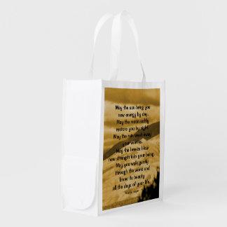 Native American prayer Grocery Bag