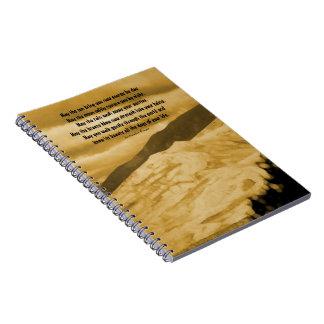 Native American prayer Spiral Notebooks