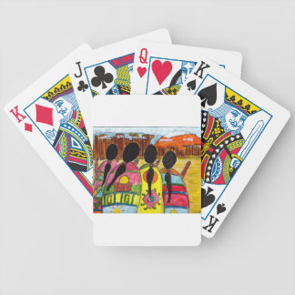 Native American Prayer to Nature Bicycle Playing Cards
