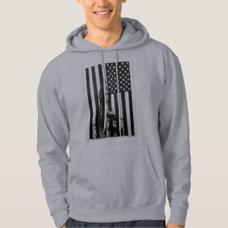 Native American Prison Hoodie - Never Forget