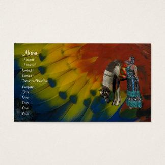 Native American Profile Card
