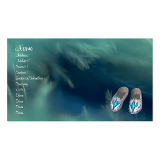 Native American Profile Card Business Card