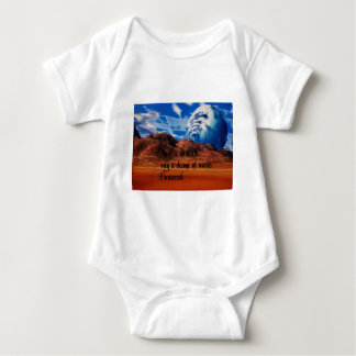 Native American proverb Baby Bodysuit