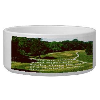 Native American Proverb Bowl