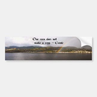 Native American Proverb Bumper Sticker