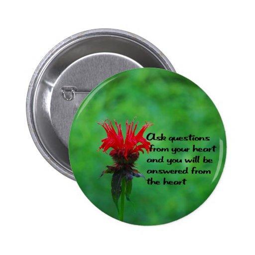 Native American Proverb Button