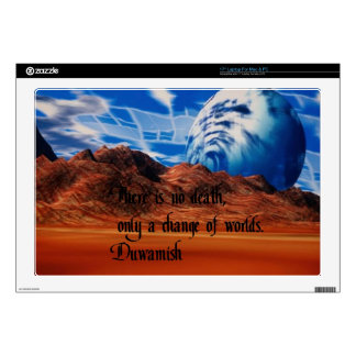 Native American proverb Decals For Laptops